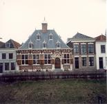 Voormalig gemeenlandshuis van Delfland. Omschrijving uit de monumentenlijst: rechthoekig bakstenen bouwwerk, gedekt ...