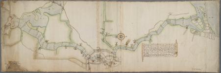 A-0325 [Kaart van het Spaarne waarop de dieptepeilingen staan aangegeven vanaf Spaarndam, door de stad H..., 1602