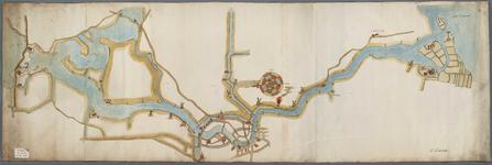 A-0331 [Kaart van het Spaarne zonder dieptepeilingen], 1605