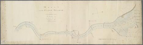 A-0344 Kaart van het Zuider Spaarne, 1823