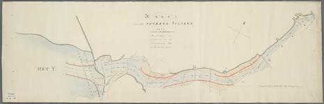 A-0345 Kaart van het Noorder Spaarne, 1823