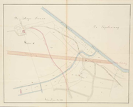 A-2728 [Kaart van de Buurweg en een nieuw aangelegde weg door het Lokhorsterduin onder Hillegom], 1842