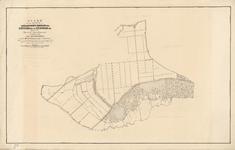 B-0001_09 Kaart van de gemeenten van Aarlanderveen, Nieuwkoop ged.k. Nieuwveen ged.k. en Zevenhoven ged.k. ..., 1860