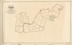 B-0001_10 Kaart van de gemeenten van Oudshoorn, Alphen, en Zwammerdam, gelegen in de provincie Zuid-Holland..., 1860