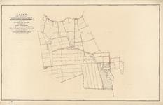 B-0001_12 Kaart van de gemeenten van Hazerswoude, Benthuizen, Boskoop, Noordwaddinxveen en Zuidwaddinxveen ..., 1860