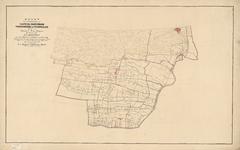B-0001_15 Kaart van de gemeenten van Katwyk, Valkenburg Voorschoten en Wassenaar gelegen in de provincie Zu..., 1860
