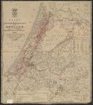 B-0008 Kaart van het hoogheemraadschap van Rijnland, 1855, met aantekeningen, ca. 1904