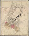 B-0022b Kaart van het hoogheemraadschap van Rijnland aanwijzende de polders en de diepte van hun zomer ..., ca. 1867