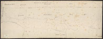 B-0027 Detailkaart no. 2 [met de kadastrale percelen in de gemeente Bloemendaal, sectie D 3], z.j.