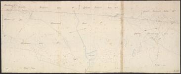 B-0028 Detailkaart no. 3 [met de kadastrale percelen in de gemeente Bloemendaal, secties D 1 ..., z.j.
