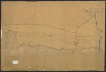 B-0029 [Kaart van de duinen en aangrenzende landen van Rijnsburg tot de grens met Noord-Holland], z.j.
