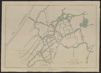 B-0622a Kaart waterwegen in het westelijke gedeelte van Rijnland, 1877