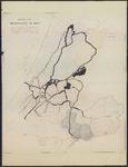 B-0623a Boezemkaart van het Hoogheemraadschap van Rijnland in 1867 waarop aangegeven de door de stoomgemalen, 1881