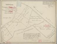 P-0376 Schetsteekening van den Zuidzijder en Boezem polder gelegen onder de gemeenten Bodegraven, Lange ..., circa ...