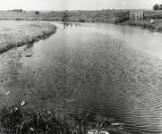 FOTO-000001 De bocht van de Dobbewatering in de Stevenhofjespolder, 1965