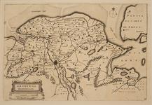 JMD-T-539 Kopergravure, Topografische kaart provincie Groningen