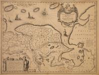 JMD-T-540 Kopergravure, Topografische kaart provincie Groningen