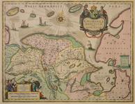 JMD-T-542 Kopergravure, Topografische kaart provincie Groningen