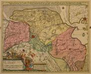 JMD-T-543 Kopergravure, Topografische kaart provincie Groningen