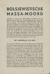 405 Bolsjewistische massamoord (Brochure, 4 blz., Oktober 1941)