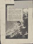 626 Karikatuurtekening: Japanse schepen worden voor de Chinese kust tot zinken gebracht, tot vreugde van de Chinezen, ...