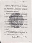 662 Balantentara Nippon tidak lama lagi akan datang mendarat poela dan bangsa Belanda jang-di-interneer akan diangkoet. ...