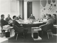 Een serie van 6 fotot's betreffende het college van Burgemeester en Wethouders (1970-1974), 1970-1974