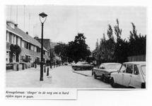 28950 Verkeersremmer: slinger in de Kreugelstraat, 1980