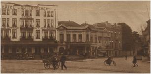 67266 Stationsplein, met links Hotel Du Commerce , 07-09-1927