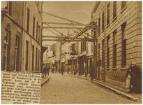 69339 Het stutten van panden in de Vrijstraat, gezien richting Keizersgracht, 1929
