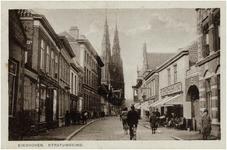 138982 Stratumseind, gezien richting St. Catharinakerk, 1900 - 1905