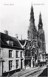 138995 Stratumseind ter hoogte van nr. 8, gezien richting St. Catarinakerk, 1905 - 1915