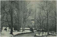 193599 Winteropname van het Elzentpark: de Dommel, 03-1933