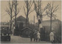 194874 Spoorwegovergang Willemstraat, over de lijn Eindhoven-Valkenswaard-Hasselt, 1931