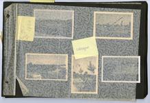 220941 Een fotoalbum over o.a. de bouw van de Dommelbrug aan de rondweg, 09-1940 - 11-05-1943