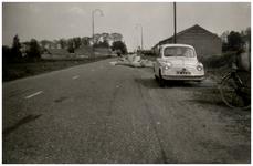 Een serie van 7 foto's betreffende de Oude Provincialeweg, 1954-1966