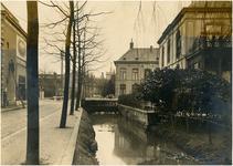 Serie van 7 foto's betreffende de Vestdijk, 1928