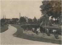 Een serie van 5 foto's betreffende het Elzentpark, 1931