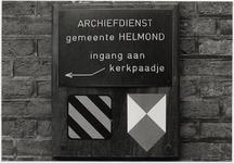 103743 Kerkstraat 19. Voormalige Nederlands Hervormde kerk, na vertrek van de Gemeentelijke Archiefdienst uit het pand. ...