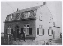 103991 Lieshoutseweg, nu Claassensstraat. Veldwachterswoning, gebouwd in 1931, afgebroken in 1973. Het huis stond op ...