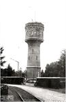 106491 Torenstraat. (voorheen Waardstraat). De tweede watertoren, in 1956 afgebroken nadat een groter exemplaar was ...