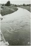 108114 Aa - Zuid-Willemsvaart. De omleiding van de Zuid-Willemsvaart gaat door een gedeelte van de Nieuwe Aa, 11-09-1984