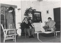 118336 Toneelvereniging Gaudeamus uit Brouwhuis gaf bij de afsluiting van het 25 jarig jubileum der vereniging een ...
