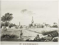 119934 Gezicht op Sint-Oedenrode. Sint-Oedenrode was de woonplaats van de kwartierschout van Peelland en in de 17e eeuw ...