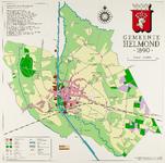 128677 Kaart Helmond 1890: industrieën in de Kanaalzone. Kaart 3 uit een serie van 5 over de ontwikkeling van de ...