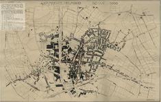 175306 Kaart van de Gemeente Helmond waarop met rode cirkel is aangegeven de plaatsen waarvoor een vergunning tot de ...