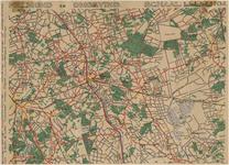 175309 Wegenkaart van Helmond en omgeving., 1955