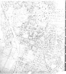 175669 Kaart van Helmond van het gebied tussen de Julianalaan, Rembrandtlaan, Deken van Hagenstraat en de omgeving ...