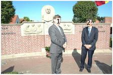 Serie van 8 foto's betreffende de herdenking 200ste geboortedag van dr. Ant. Mathijsen, 16-09-2006