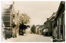 46365 Nieuwstraat : Links achterste deel ambtswoning Burgemeesters (van Uden, van Ginneken en van Hout), in het midden ...